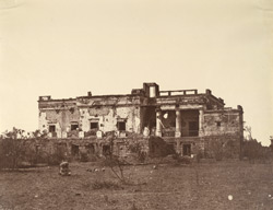 Hindoo Rao's House, Delhi, from west.